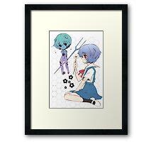 Chibi Rei Framed Print