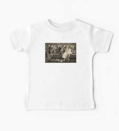 Sleeping Girl Dreams of Living Dolls Baby Tee