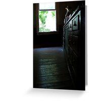 Front Room - Woodsmans Lodge, Bay St. Louis, Mississippi Greeting Card