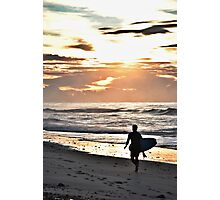 Old Bar Surfer Photographic Print