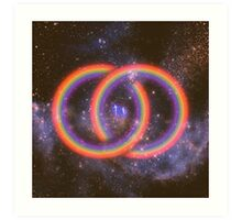 A Welcoming to the Infinite  Art Print