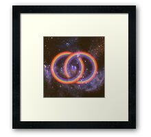 A Welcoming to the Infinite  Framed Print