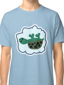 Upside Down Turtle  Classic T-Shirt
