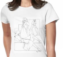 """""""Helga's Fashion Mannequins Series Poster 7 Peplum""""© Womens Fitted T-Shirt"""