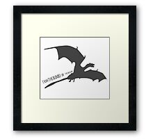 Blood of the Dragon Framed Print