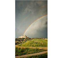 Evening Rainbow Photographic Print