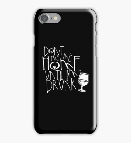 Drunk iPhone Case/Skin