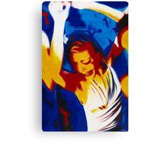 """""""On The Dance Floor"""" Canvas Print"""