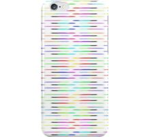 Colorful Rainbow Stripes Pattern iPhone Case/Skin
