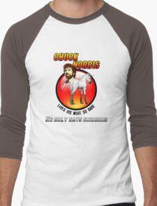 Chuck be tough 2.  Men's Baseball ¾ T-Shirt
