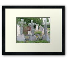 Three Crosses Framed Print