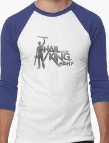 Evil Dead - Hail To The King [Light] Men's Baseball ¾ T-Shirt