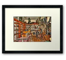 Old Time Hardware Store Framed Print