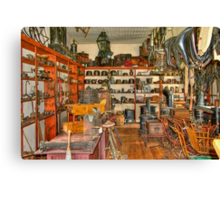 Old Time Hardware Store Canvas Print