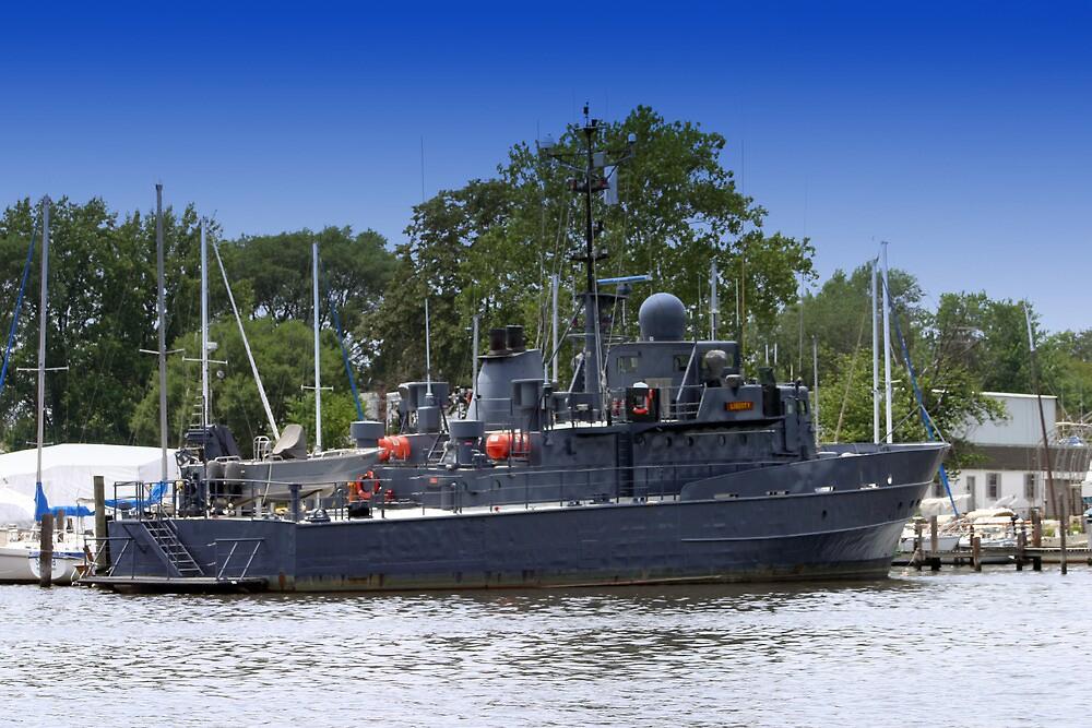 Coast Guard Cutter Badu by Darlene Bayne