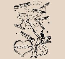 Believe in the Bacon Fairy Unisex T-Shirt
