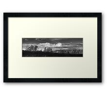 Cloudscape Panorama Framed Print