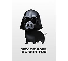 Star Wars: Pig Darth Vader Photographic Print