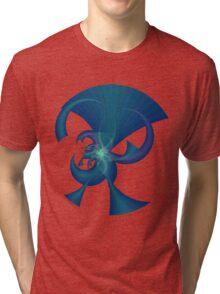 Blue Horns Tri-blend T-Shirt