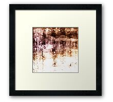 Manhattan Stories Framed Print