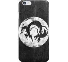 Foxhound V1 (White) iPhone Case/Skin