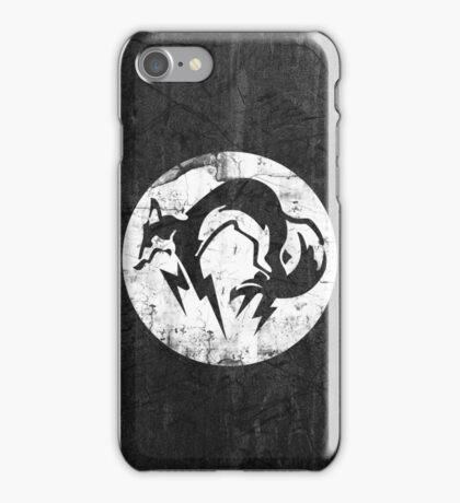 Foxhound V1 (White) iPhone Case/Skin