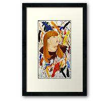 Modern Bust Framed Print