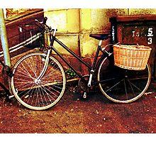 Antique Bicycle Photographic Print