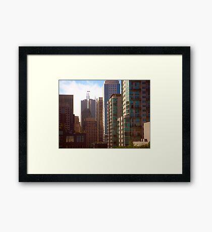 Downtown Framed Print