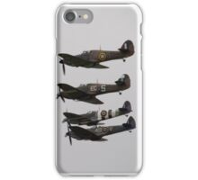 BBMF Spitfires and hurricanes iPhone Case/Skin