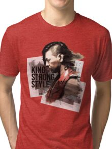 King of Strong Style Tri-blend T-Shirt