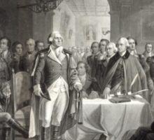 George Washington and His Generals Sticker
