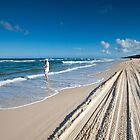 Tracks in the Sand - Iconic Fraser Island by Janette Rodgers