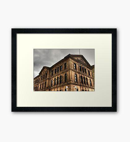 Halifax Architecture Framed Print