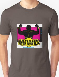 SFWWC Funky Retro Wrestling Logo 80s Style T-Shirt