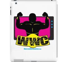 SFWWC Funky Retro Wrestling Logo 80s Style iPad Case/Skin