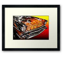 Smokin Framed Print