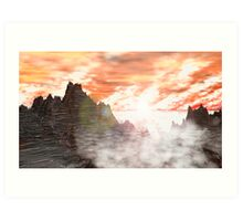 Weathered & Tempered by Wind, Sea & Sol. Art Print