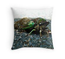 Mean Buggy Throw Pillow