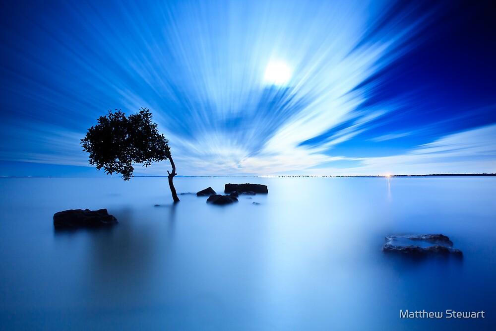 Blue Evening II by Matthew Stewart
