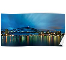 Opera House, Bridge, Tower.....must be Sydney! Poster