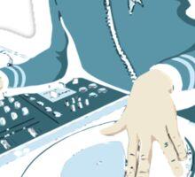 Cool Spock DJ party Sticker