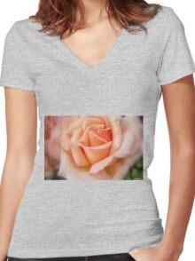 Tenderness! Women's Fitted V-Neck T-Shirt