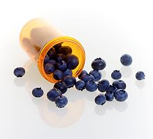 Blueberries as Natural Medicine 5D Mark II by RandiScott