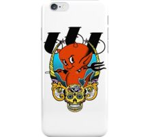 Red Devil & Sugar Skull! iPhone Case/Skin