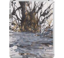 Desolation: A Winter Mixed Media Artwork iPad Case/Skin