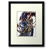YuGi and BLS Framed Print