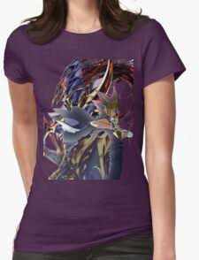YuGi and BLS Womens Fitted T-Shirt