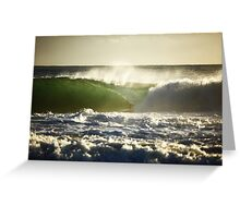 The Perfect Wave... Greeting Card
