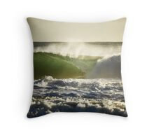 The Perfect Wave... Throw Pillow